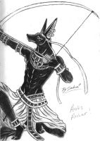 Anubis archer by sakura11