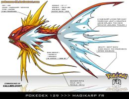Pokedex 129 - Magikarp FR