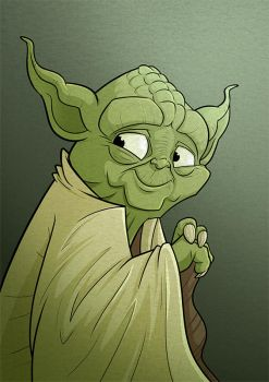 Yoda by Ian-Summers
