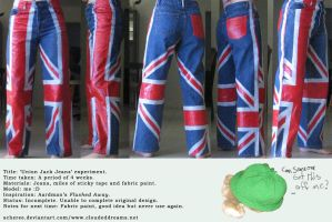 Union Jack Jeans by scheree