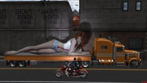 Keep On Trucking by DrCreep