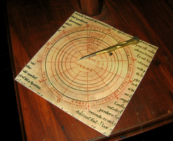 The zodiacal compass by Azenor-stock