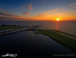 Okeechobee-Lake-Sunset-from-Port-Mayaca-Florida by CaptainKimo