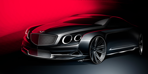 Bentley Concept Sketch by Whitesnake16