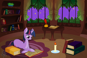 Late night study by TheTidbit