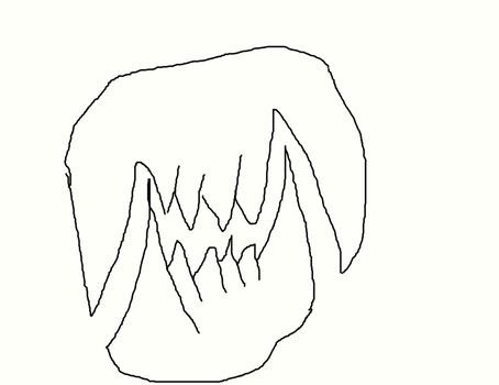 Attempt to draw teeth! by DoctorWhoDatGirl