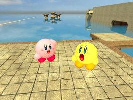 Kirby Toons CGI Kirby and Keeby by Aso-Designer