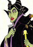 Maleficent (Disney) by Yoshiknight2