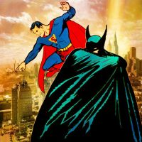 The Golden Age of Superman and Batman by stick-man-11