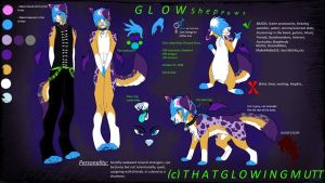 Updated Glow Reference 2014 + Anthro by ThatGlowingMutt
