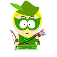 SP JLA: Green Arrow by Adam430k
