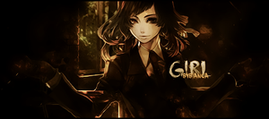Girl Sign by Bipalupa