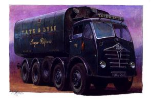 Foden FG Tate and Lyle by Artistjeffries