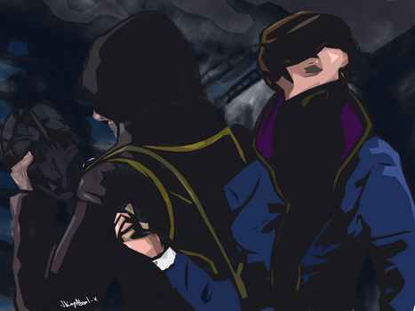 Passing the Torch - #DrawDishonored entry by ShinyAbsol-x