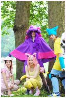 Cosplay - Gijinka group Poke by Evadoll