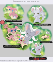 Audino the Experience Bait 811 by WeisseEdelweiss