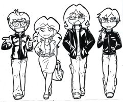 Entourage (stuff from tumblr) by AceroTiburon