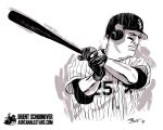 Jim Thome by Brent Schoonover by AshcanAllstars