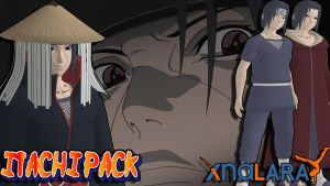 Naruto UNS3 - Itachi Pack FOR XPS by MVegeta