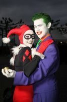 Harley and Joker by Tarulein