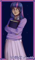Twilight Sparkle by LuckyBlackCatXIII