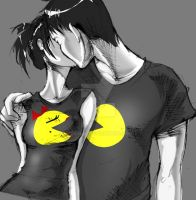 Mr. and Mrs. Pacman by Pechan