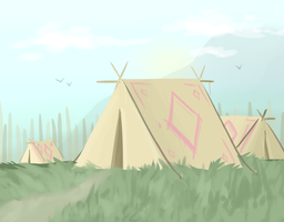 Tao Tent/Camp by MissDrawsAlot