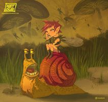 The Fairy and the Snail by KetsuoTategami