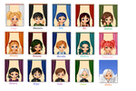 Sailor Moon Characters by SilkmousetheNeko