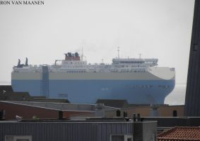 British car carrier Violet Ace 2011- by roodbaard1958
