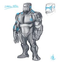 STEEL WILL SKETCH by EdPalhares