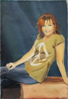 Reba McEntire - oil paint by akuinnen24