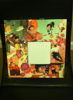 Wreck-It Ralph Frame by Voldenae
