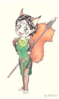 Dragon Age 2 - Merrill by Noldo-Painter