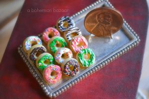 Assorted Donuts 1:12 Scale by abohemianbazaar