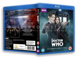 Doctor Who -Series Seven Blu Ray Case by willbrooks
