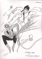 Spider-Man Vs. Strider Hiryu by MrEther
