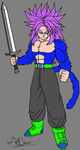 Future Trunks SSJ4 by ProRimz