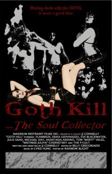 Goth Kill Poster by rainbowblight