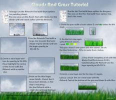 Clouds And Grass Tutorial by the-searching-one