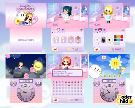 Dress To Play: Cute Witches! 3DS Screenshots by CoderChild