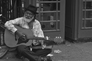 Bluesman by wooder