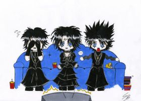 TV-evening with Moi Dix Mois by LadyMillennium