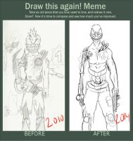 Draw this again: #1 (redesign/4 years later) by chidori900