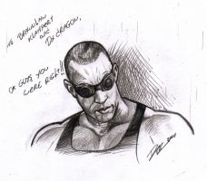 riddick by AlexDeB