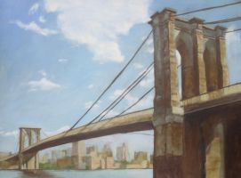Brooklyn Brige by heartMelinda