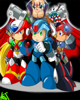 Megaman X: Powered Up by The-Late-Bloomer