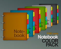 Colored Leather Notebook by imaGeac
