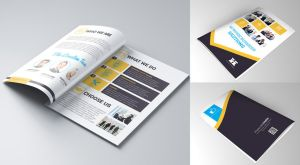 Multipurpose Business pamphlet by koza30