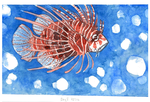Daily painting 3 lionfish by The-Monster-Shop